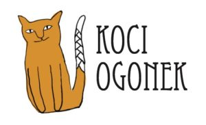 Grafika Koci Ogonek.